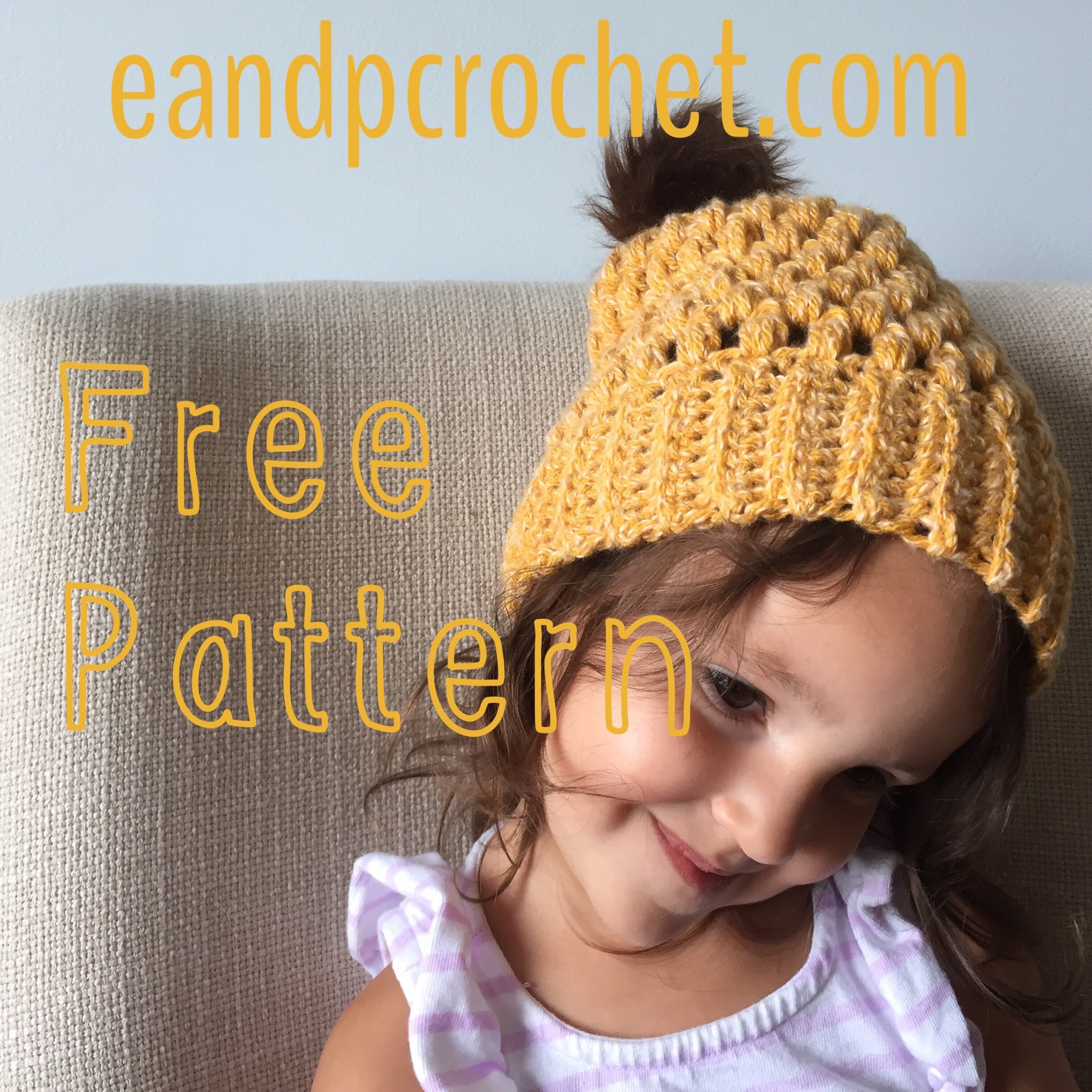 30658c292de Pattern  Slouchy puff stitch beanie - Evelyn And Peter Crochet