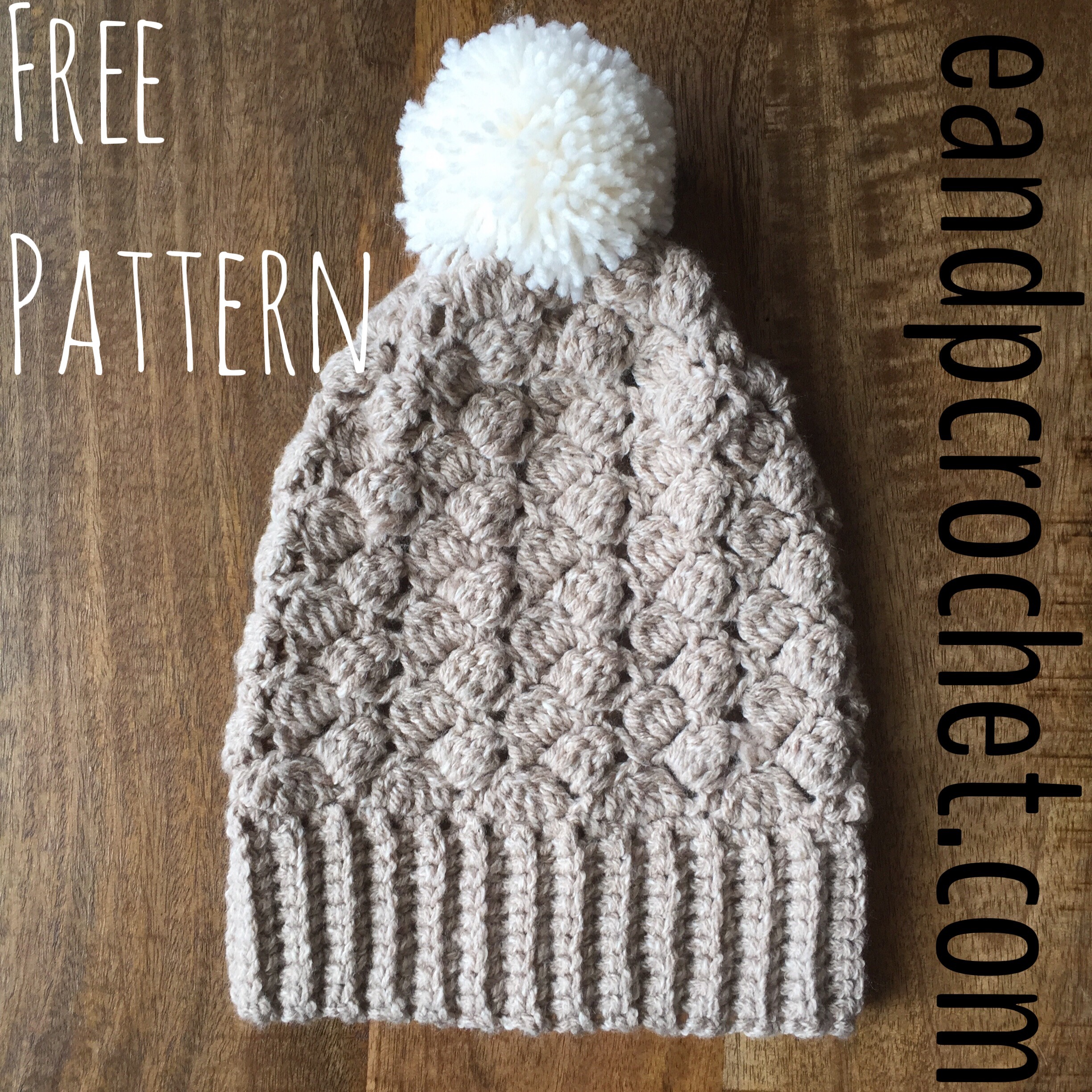 Pattern: Side Saddle Slouchy Beanie - Evelyn And Peter Crochet