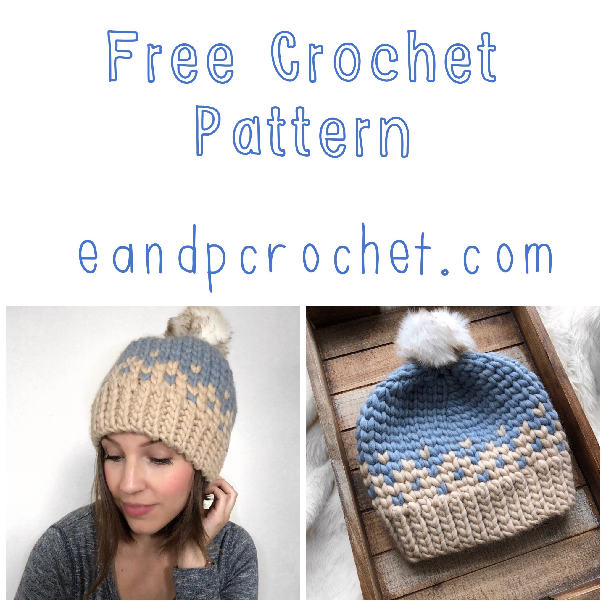 Pattern: The Snow Cone Beanie - Evelyn And Peter Crochet